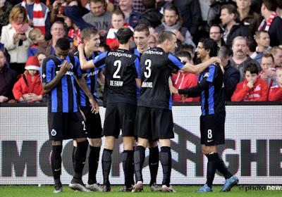 Club Brugge wint met 1-4 bij KV Kortrjik