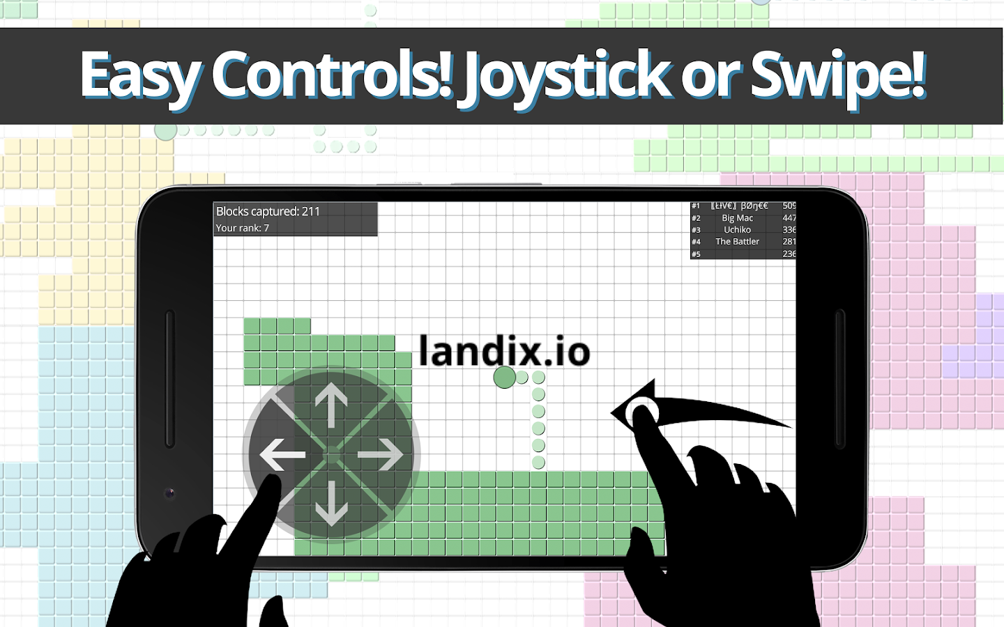 Landix.io- screenshot
