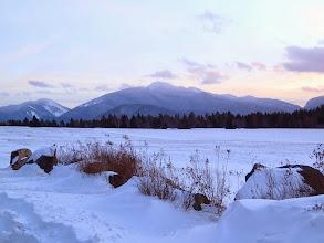 Photo: Algonquin est la plus haute.. et Avalanche Lake est entre les deux à gauche.