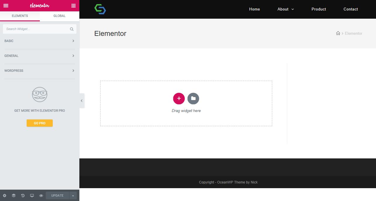 Elementor-WordPress Page Builder - Wp Stairs