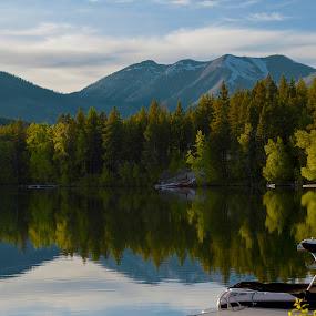 Life and Lake Five by Teri Garrison-Kinsman - Landscapes Waterscapes ( lake five montana, montana lake, montana lakes, lake five, mountain lake, montana, lake, montana beauty, montana vista, montana scenery )