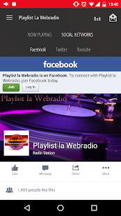 Playlist La Webradio- screenshot thumbnail