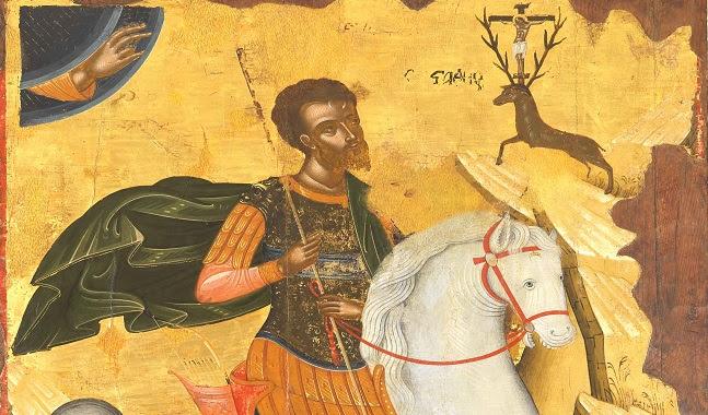 Άγιος Ευστάθιος Ιησούς Πλακίδας, Jesus Christ Plakidas.