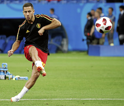 Eden Hazard will be one of Belgium's key players in the quarterfinal against Brazil on Friday. Picture: REUTERS