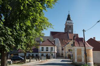Photo: Tuż przy granicy małe miasto Slavonice.