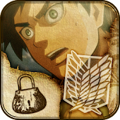Attack on titan-EREN-LOCK APP