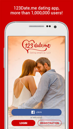 Free to register chat dating app - 123 Date Me 1.28 screenshots 1