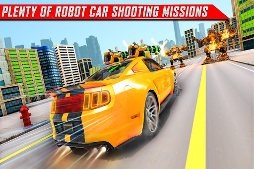 Lion Robot Car Transforming Games: Robot Shooting 1.4 screenshots 5