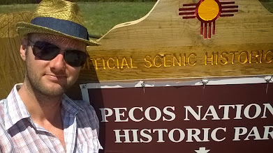 Photo: August 10-I almost didn't stop at Pecos National Historic Park, but I am so glad I did for a couple of reasons...
