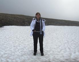 Photo: Kesälomamatkalla heinäkuussa - riittävän pohjoiseen kun menee, niin maisemat ovat melko talvisia edelleen!