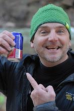 Photo: CJ likes beer