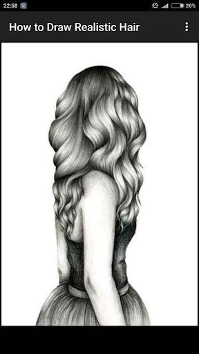 How to Draw Realistic Hair  screenshots 12