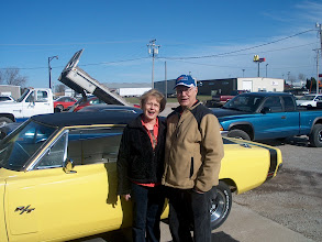 Photo: Dan and His Wife enjoyed hearing their car run after so many years, Now if they could just drive it!