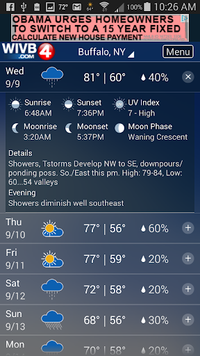 4 Warn Weather  screenshots 2