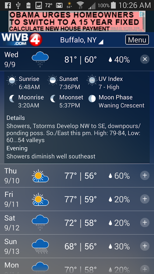 4 Warn Weather- screenshot