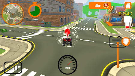 Racing Pizza Delivery Baby Boy 1.0 screenshot 11212