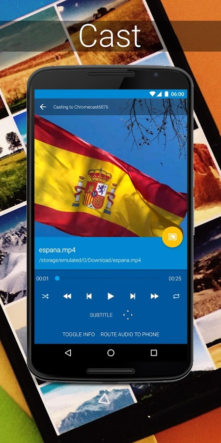LocalCast for Chromecast/DLNA: captura de pantalla