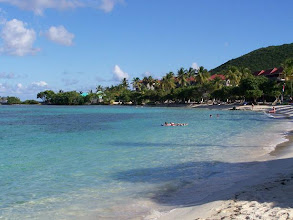 Photo: No Waves to knock you down here...swim, snorkel, relax!