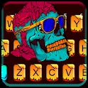 Cool Skull Graffiti Keyboard Theme icon