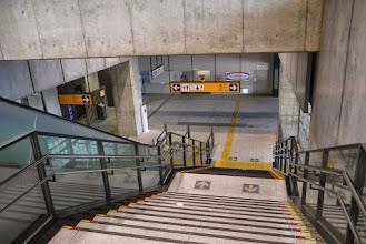 Photo: やたらと立派な駅