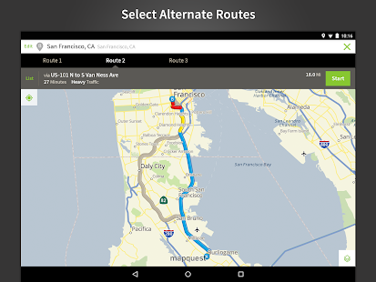 MapQuest GPS Navigation & Maps - screenshot thumbnail