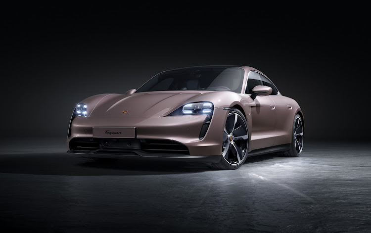 The electric Taycan sports car achieved 20,015 sales last year, half of which were to customers who hadn't previously owned a Porsche. Picture: SUPPLIED