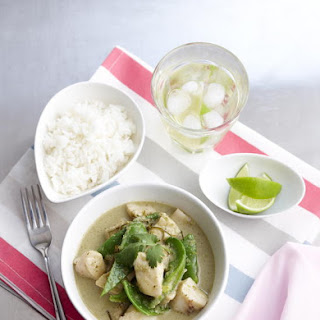 Thai Green Curry and Fish.