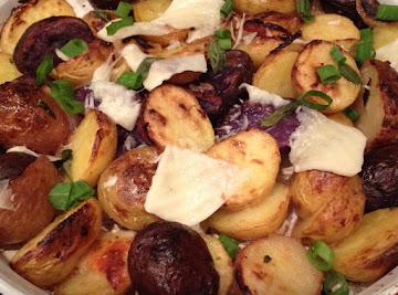 Colorful Roasted Potatoes Recipe