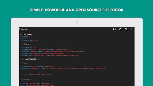 Turbo Editor // Text Editor 2.4 Screenshots 13