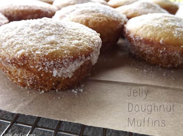 Jelly Doughnut Muffins Recipe
