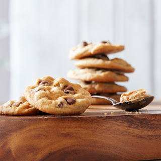 Old-Fashioned Peanut Butter Chocolate Chip Cookies.