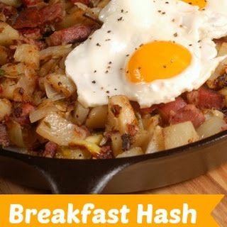Ham or Turkey Breakfast Hash.