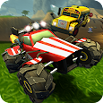 Crash Drive 2: 3D racing cars icon