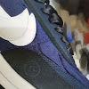 fragment x sacai x nike ldwaffle blue void/obsidian/white/white