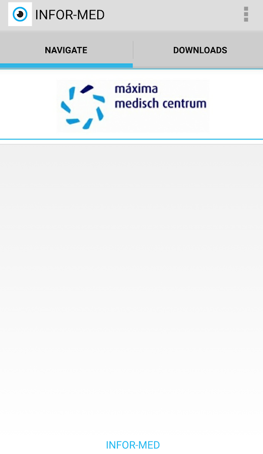 Infor-Med: screenshot