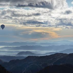 Up by Uroš Florjančič - Landscapes Mountains & Hills