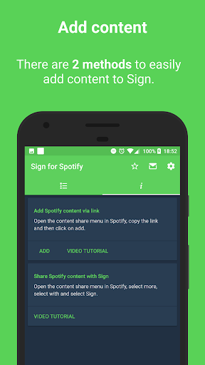 Sign for Spotify - Spotify Widgets and Shortcuts screenshot 9
