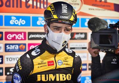 """Wout van Aert is aan het herstellen van blindedarmontsteking: """"Letterlijk uit de running"""""""