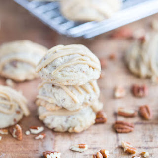 Butter Pecan Maple Cookies