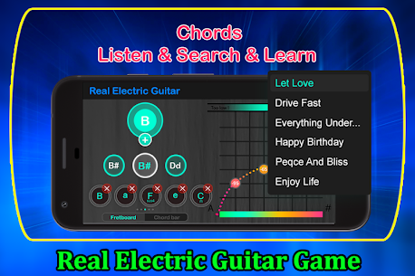 Real Electric Guitar Game 1.1 APK Mod Updated 1