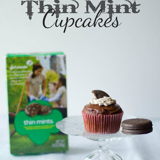 Thin Mint Cupcakes.