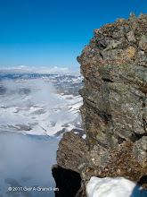Photo: Breathtaking view along the ridge up to Tromsdalstinden