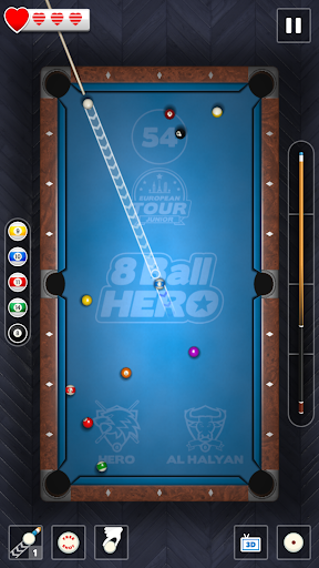 8 Ball Hero - Pool Billiards Puzzle Game - screenshot