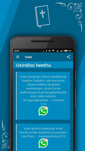 Xhosa bible for android apk download.