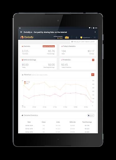 Dwindly.io - Earn Money By Sharing Links! 1.1 screenshots 11