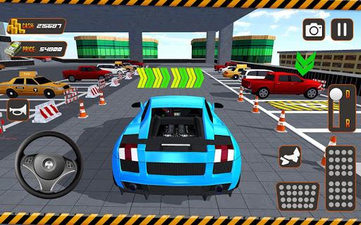 real driving car parking: us car driving school screenshot 3