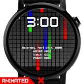Watch Face: Color Pixel - Wear OS Smartwatch Android APK Download Free By Osthoro
