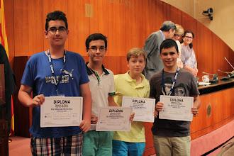 Photo: Ganadores del concurso de Fotografía Matemática