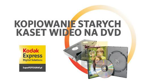 Kopiowanie starych kaset vhs na dvd Wałbrzych