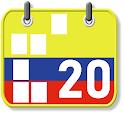 Calendario Festivos Colombia 2018 2019 con Widget icon